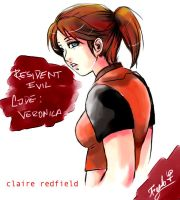 Claire Redfield_R.E.C.V. by Testament-Ferenand