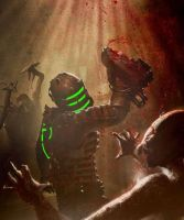 dead space green power by master-of-destructio