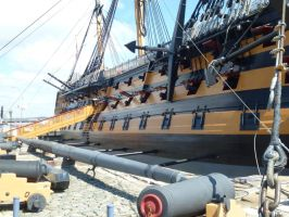 HMS Victory by photodash