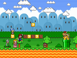 Mario Mockup by Cyberguy64