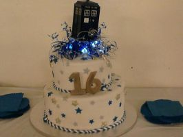 16th Birthday Cake by Son-Of-A-Beech