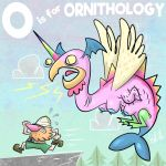ALPHAMABET OF DANGEROUS - O is for ORNITHOLOGY by Cosmic-Brainfart