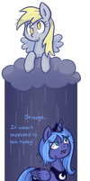 Unscheduled Rain by Reporter-Derpy