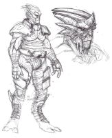 TURIAN SKETCHES by COUNTPAGAN