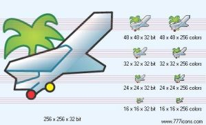 Air-tickets Icon by phorago
