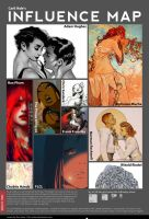 Carliihde's Influence Map by Carliihde