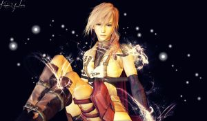Final Fantasy XIII Lightning by Kinia24Lara