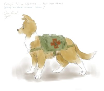 John the Army Dog by Tio-Trile