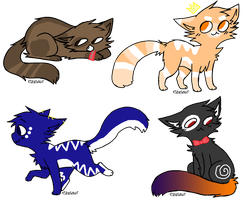 Kitty Adopts! {CLOSED} by SNlCKERS