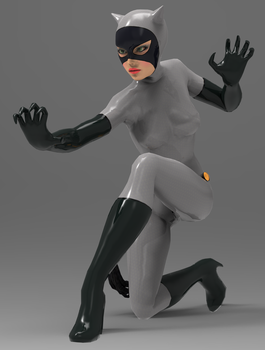 Catwoman Render 02 by TRDaz