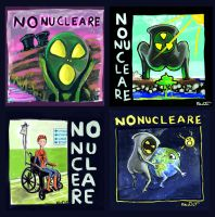 NO NUCLEARE by krio0ut