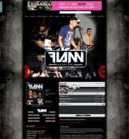 Myspace Layout - Flann by itsmylove