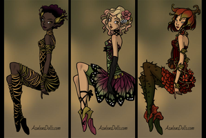 Pretty Pixie clothes (dress up game teaser) by AzaleasDolls