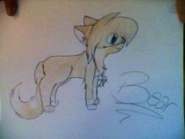 Bear ::Request for Crazynowell:: by XAngelkittehX