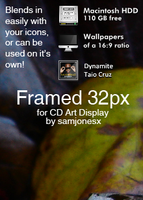 Framed 32px for CAD by samjonesx