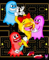 RETROPOST: Ms Pacman by CheshireCaterling