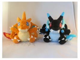 Pokemon Charizards X-Y by StarMassacre