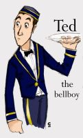 ted the bellboy by Ian-of-Gryffindor
