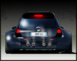 Renault Clio by Ophideus