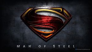 Man of Steel (Superman) Movie Poster by photoshoptrainingch