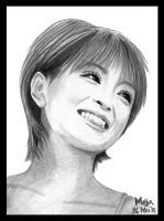 Ayu's Smile.. by m-ayu