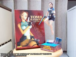 Tomb Raider II 40 Fathoms papercraft vignette by ninjatoespapercraft