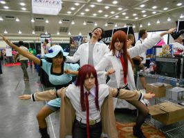 Otakon 2012 - Steins Gate Official Cosplayers by Angel1224