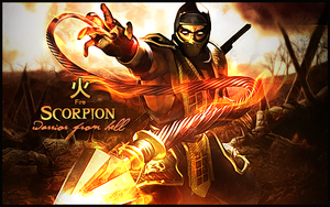 Scorpion by seravoo