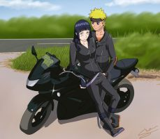 Biker Love by Silent-Shanin