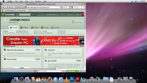 Mac OS X Theme 4 Windows Vista by XxKiNgPwNeRxX
