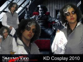 Sweenye Todd Cosplay by KarlDArt