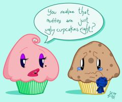 Muffin or Ugly Cupcake? by SpeciosusNihilum