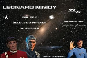 Farewell Spock by ATLEE-Photography