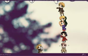 Hetalia Wallpaper by Yokuna-chan