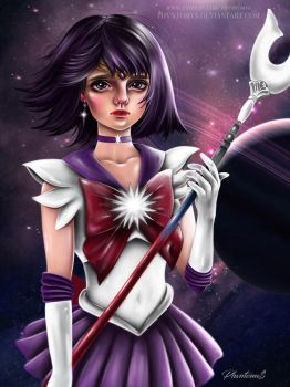 Sailor Saturn by PHVNTOMVS