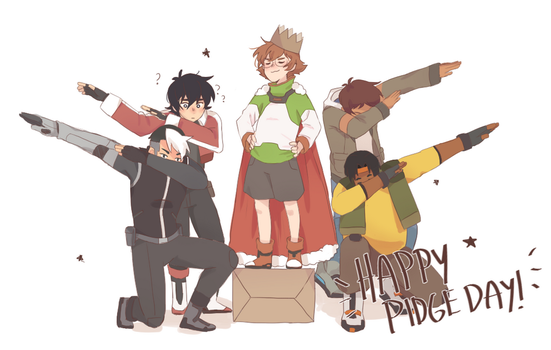 Pidge Day by Lovapples