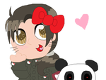 hEllo kIttY iS mY bAE.jpg (and pandas are demons) by Strawberry-Spritz