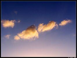 Peace - Clouds VII by Hiersein