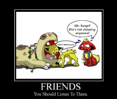 Friends by Glamator