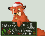 Secret Santa - AOFW Fox by calistamonkey