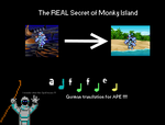 The REAL Secret of Monkey Island by therealOrkie