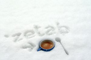 Cold Coffee and Warm Snow by rotane