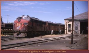 Worn Out Wagontop III by classictrains