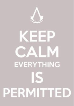 Keep Calm and Everything Is Pemitted by HotDogVamp