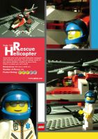 Lego Rescue Helicopter by curseofthemoon