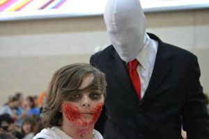 Horribly Slender  London MCM Expo 2014 by KumoBlarke