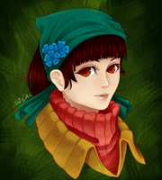 FanArt: Zia from Bastion game by Eri-d-Ann