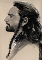 young prince Thorin by evankart