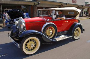 1929 Ford Model A Convertible by E-Davila-Photography