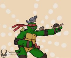 tmnt Raph the Animal Lord by Dragona15